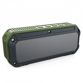 Bluetooth Speaker Komputer / Laptop - Aukey Outdoor Waterproof Stereo Bluetooth Speaker Dual 3W Driver - SK-M8 - Black