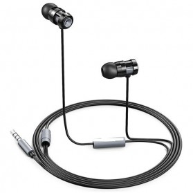 Aukey Comfort-fit Earphone dengan Mic - EP-C2 - Black