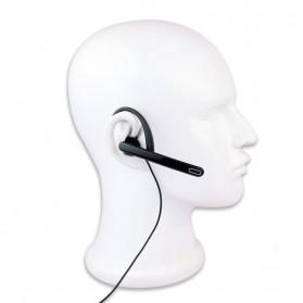 Headset for Taffware Pofung Baofeng BF-UV5R BF-UV5RE Plus BF-888S UFO-1 BF-UV82 - K300-125 - Black - 3