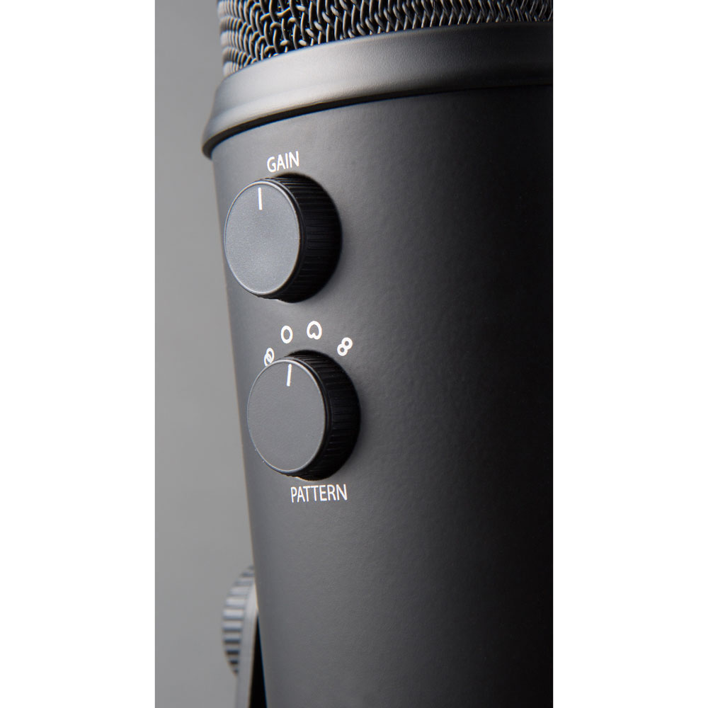 Blue Yeti Blackout USB Microphone - Black - JakartaNotebook com