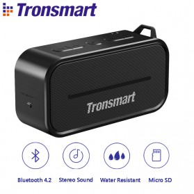 Tronsmart Element Portable Waterproof Bluetooth Speaker - T2 - Black
