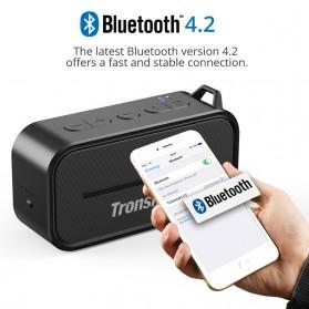 Tronsmart Element Portable Waterproof Bluetooth Speaker - T2 - Black - 3