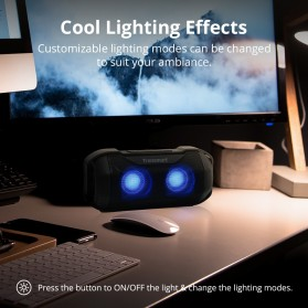 Tronsmart Blaze Portable Bluetooth Speaker Superior Bass Waterproof - ES-E92 - Black - 6