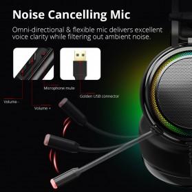 Tronsmart Glary Headphone Gaming Virtual Surround 7.1 - Black - 7
