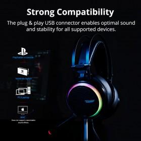 Tronsmart Glary Headphone Gaming Virtual Surround 7.1 - Black - 8