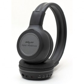 Zealot N85 Headphone with FM Radio TF Slot & Mic - Black - 2