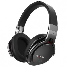 Zealot B5 Wireless Headset Bluetooth Headphone with TF & Mic - Black