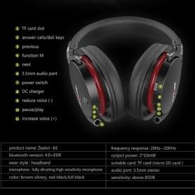 Zealot B5 Wireless Headset Bluetooth Headphone with TF & Mic - Black - 3