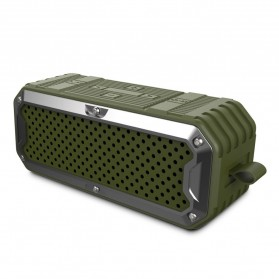 ZEALOT Bluetooth Speaker Waterproof Power Bank 5200mAh - S6 - Green