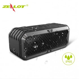 ZEALOT Bluetooth Speaker Waterproof Power Bank 5200mAh - S6 - Green - 3