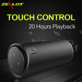 Zealot S8 Bluetooth Speaker dengan Powerbank 4000mAh - Black - 5