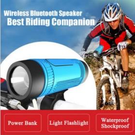 Zealot Bluetooth Speaker With Flashlight 4000mAh Power Bank - S1 - Gray - 5