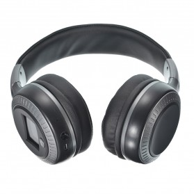 Zealot B19 Wireless Headset Bluetooth Headphone with TF & FM Radio - Black - 2