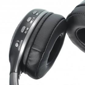 Zealot B19 Wireless Headset Bluetooth Headphone with TF & FM Radio - Black - 3