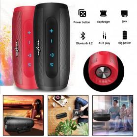 Zealot S16 Bluetooth Speaker Dual Bass dengan Powerbank 4000mAh - Black - 5
