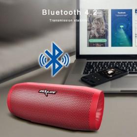 Zealot S16 Bluetooth Speaker Dual Bass dengan Powerbank 4000mAh - Black - 8