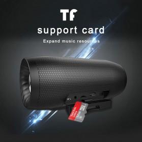 Zealot S16 Bluetooth Speaker Dual Bass dengan Powerbank 4000mAh - Black - 9
