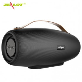 Zealot Fanatic Outdoor Portable Bluetooth Speaker Boombox with Powerbank 4000mAh - S27 - Black - 3