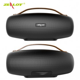 Zealot Fanatic Outdoor Portable Bluetooth Speaker Boombox with Powerbank 4000mAh - S27 - Black - 4