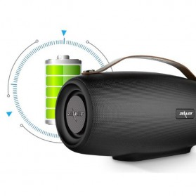 Zealot Fanatic Outdoor Portable Bluetooth Speaker Boombox with Powerbank 4000mAh - S27 - Black - 8
