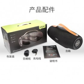 Zealot Fanatic Outdoor Portable Bluetooth Speaker Boombox with Powerbank 4000mAh - S27 - Black - 10