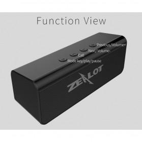 Zealot Portable Bluetooth Speaker 10W - S31 - Black - 8