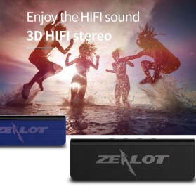 Zealot Portable Bluetooth Speaker 10W - S31 - Black - 9