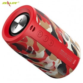 Zealot Portable Bluetooth Speaker - S32 - Red