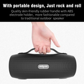 Zealot Portable Bluetooth Speaker with Powerbank + Senter LED - S29 - Camouflage - 5
