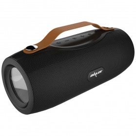 Zealot Portable Bluetooth Speaker with Powerbank + Senter LED - S29 - Black