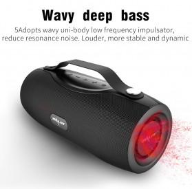 Zealot Portable Bluetooth Speaker with Powerbank + Senter LED - S29 - Black - 7