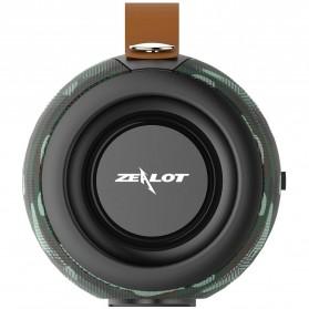 Zealot Portable Bluetooth Speaker with Powerbank + Senter LED - S29 - Black - 9