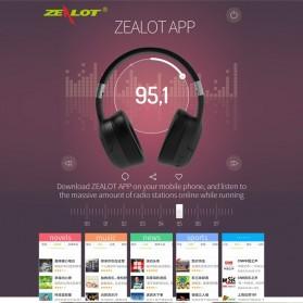 Zealot B28 Wireless Headset Headphone Bluetooth 5.0 with Mic - Black - 7