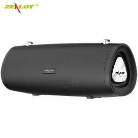 Zealot Portable Bluetooth Speaker 3D Stereo - S38 - Black