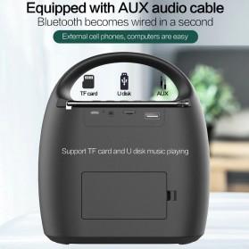 Zealot Portable Bluetooth Speaker Super Bass FM Radio - S42 - Black - 4