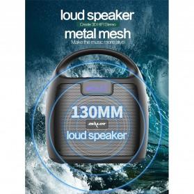 Zealot Portable Bluetooth Speaker Super Bass FM Radio - S42 - Black - 9