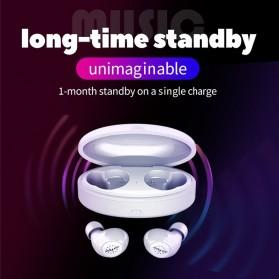 Zealot TWS Earphone True Wireless Bluetooth 5.0 with Charging Dock - H19 - Black - 8