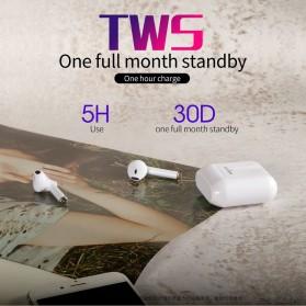 Zealot TWS Earphone True Wireless Bluetooth 5.0 with Charging Dock - T2 - Black - 3