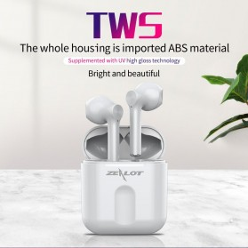 Zealot TWS Earphone True Wireless Bluetooth 5.0 with Charging Dock - T2 - Black - 7