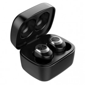 Zealot TWS Earphone True Wireless Bluetooth 5.0 with Charging Dock - T1 - Black