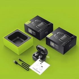 Zealot TWS Earphone True Wireless Bluetooth 5.0 with Charging Dock - T1 - Black - 10