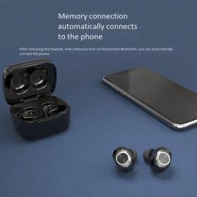 Zealot TWS Earphone True Wireless Bluetooth 5.0 with Charging Dock - T1 - Black - 2