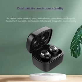 Zealot TWS Earphone True Wireless Bluetooth 5.0 with Charging Dock - T1 - Black - 5