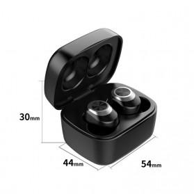 Zealot TWS Earphone True Wireless Bluetooth 5.0 with Charging Dock - T1 - Black - 7