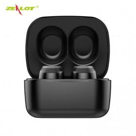 Zealot TWS Earphone True Wireless Bluetooth 5.0 with Charging Dock - T1 - Black - 8