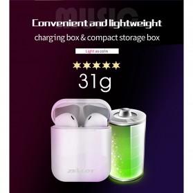 Zealot TWS Earphone True Wireless Bluetooth 5.0 with Charging Dock - H20 - White - 3
