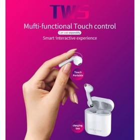 Zealot TWS Earphone True Wireless Bluetooth 5.0 with Charging Dock - H20 - White - 7