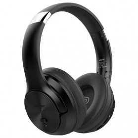 Zealot Headphone Wireless Bluetooth 5.0 Super Bass ANC Active Noise Canceling with Mic - B36 - Black