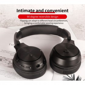 Zealot Headphone Wireless Bluetooth 5.0 Super Bass ANC Active Noise Canceling with Mic - B36 - Black - 2