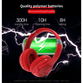 Zealot Headphone Wireless Bluetooth 5.0 Super Bass ANC Active Noise Canceling with Mic - B36 - Black - 3